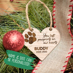 Pet Remembrance Ornament