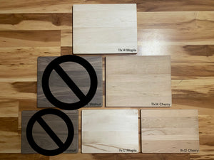 Recipe Card Cutting Board