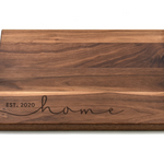 Cursive Home Cutting Board
