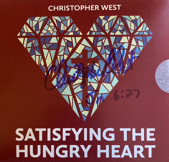 SIGNED - Satisfying the Hungry Heart CD (St. Joseph Communications edition)