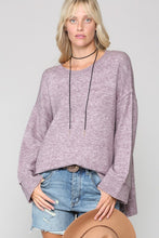 Load image into Gallery viewer, Round Neck Sweater Top