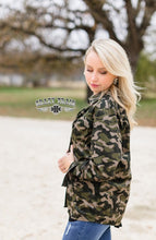 Load image into Gallery viewer, Check Me Out Camo Corduroy Jacket