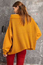 Load image into Gallery viewer, HEAVY KNIT PULLOVER