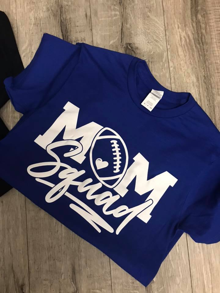 Mom Squad Football