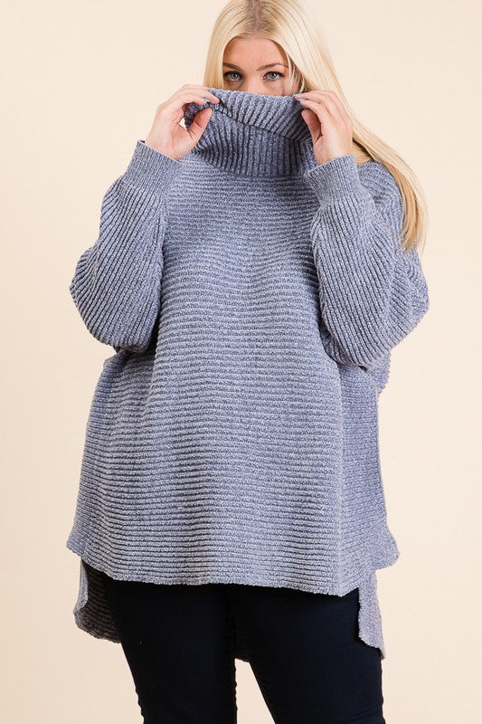 Chenille Loose Sweater Pullover