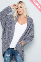 Load image into Gallery viewer, Fluffy Knit Cardigan