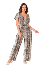 Load image into Gallery viewer, BEASTLY BEAUTY SNAKESKIN ROMPER