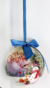 Christmas Light-Up Ball Ornaments