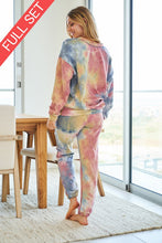Load image into Gallery viewer, Tie Dye Knit Set