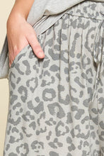 Load image into Gallery viewer, Wide Leg Animal Print Trousers