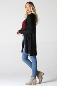 Black 2 Pocket Cardigan