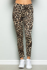 Animal Print Long Leggings