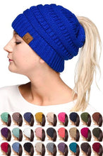 Load image into Gallery viewer, CC PONYTAIL BEANIE MB-20A