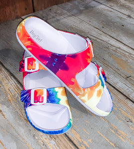Waterslides- Tie Dye Corkys Hey Girl