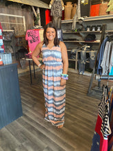 Load image into Gallery viewer, TIE DYE MAXI HALTER DRESS