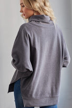 Load image into Gallery viewer, Funnel Neck Sweatshirt