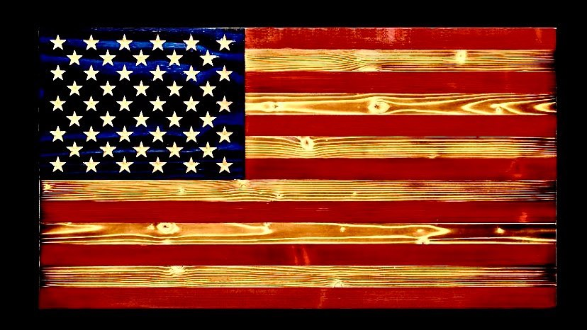 Traditional American Flag