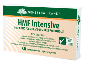 Genestra Brands HMF Intensive. 30 vegan caps