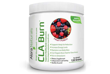 Alоra Naturals CLA Burn™ - Natural Fruit Punch. 120 g