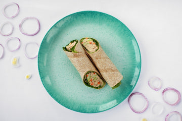 Homestyle Tuna & Egg Salad Wrap