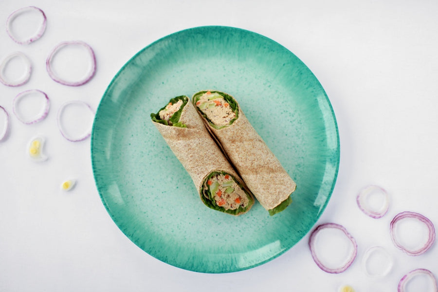 Homestyle Chicken & Egg Salad Wrap