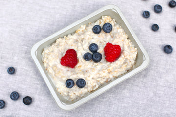 Oatmeal with Wild Berries