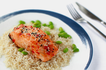 Sweet Chili Salmon & Brown Rice