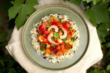 Jambalaya & Rice with Indian Spices
