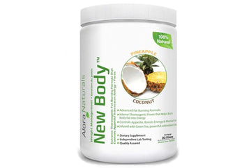 Alora Naturals New Body - Pineapple Coconut. 262 g
