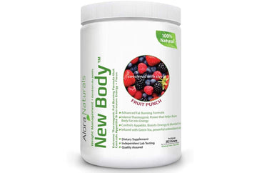 Alora Naturals New Body - Natural Fruit Punch. 262 g