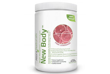Alora Naturals New Body - Natural Pink Lemonade. 262 g