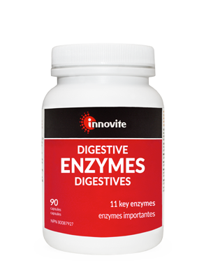 Innovite Digestive Enzymes. 90 caps