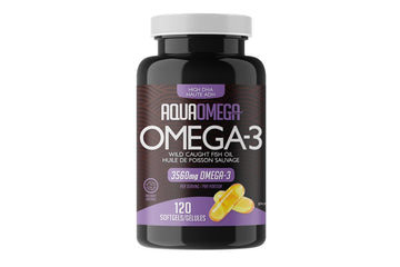 AquaOmega High DHA Omega-3. 120 caps