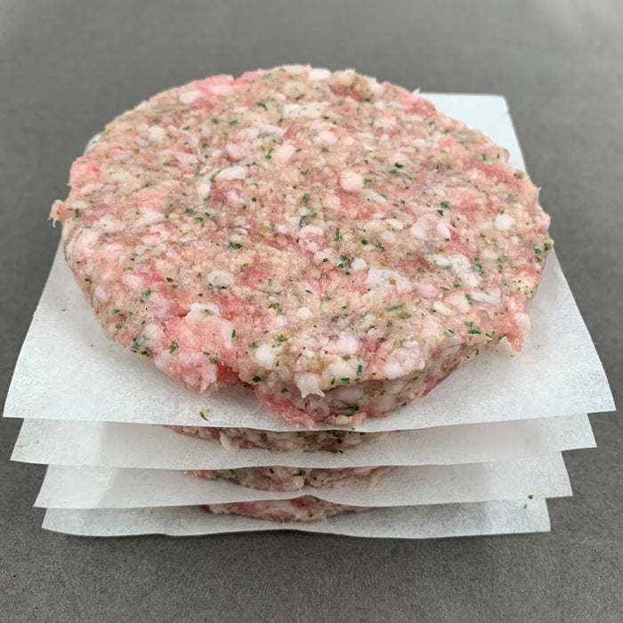 Premium Pork & Herb Patties