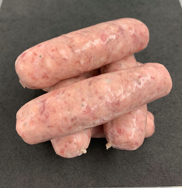 20 x Premium Pork Sausages (1.5kg pack)