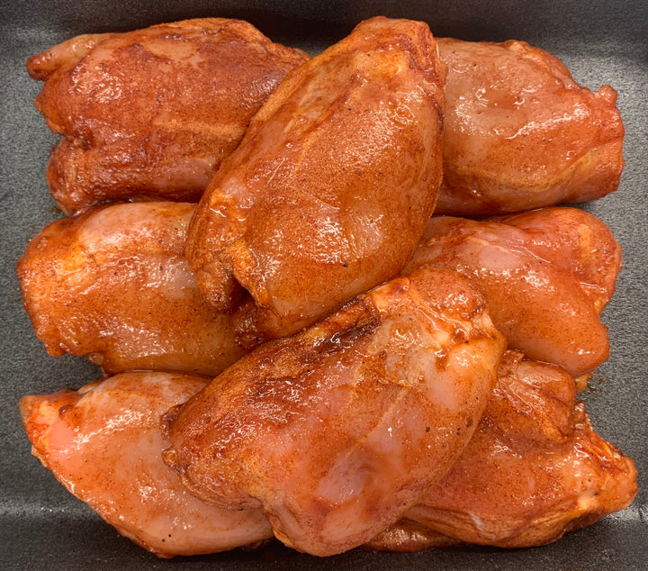 Smoky BBQ Chicken Thigh 1kg Pack