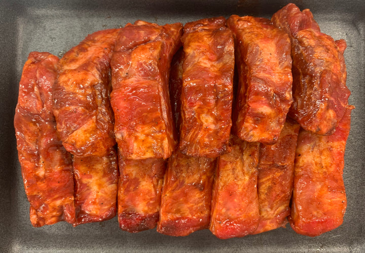 Smoky BBQ Pork Loin Ribs 1kg Pack