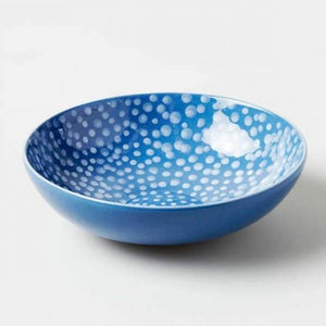 BLUE DOTS BOWL