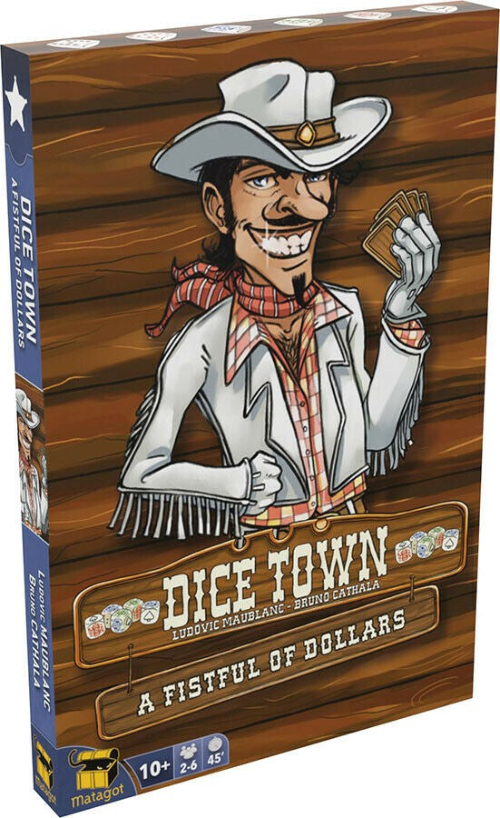 DICE TOWN A FISTFUL OF CARDS