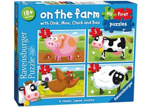 RBURG - ON THE FARM MY FIRST PUZZLE 2 3 4 5PC