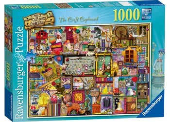RB CRAFT CUPBOARD PUZZLE 1000PC