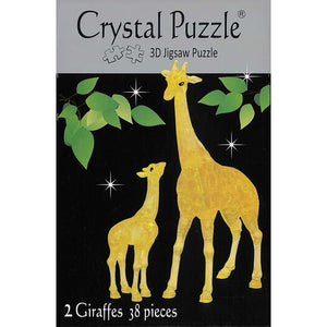 CRYSTAL PUZZLE - GIRAFFES