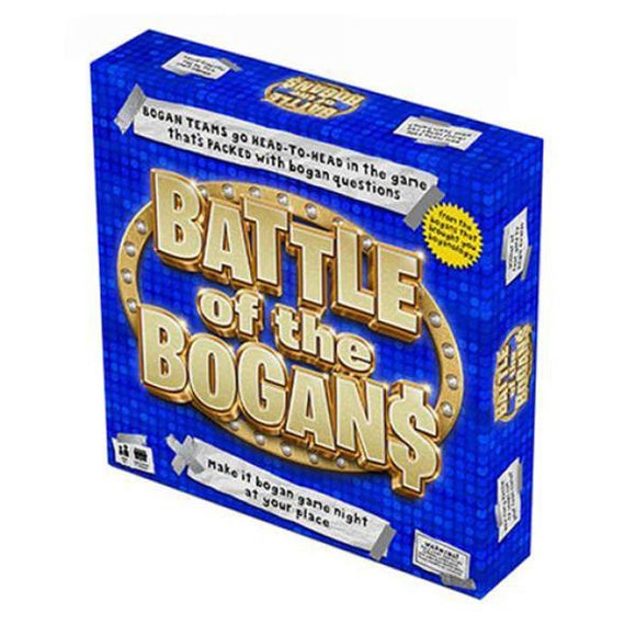 BATTLE OF THE BOGANS GAME