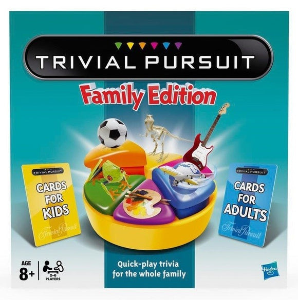 TRIVIAL PURSUIT NEW FAMILY EDITION
