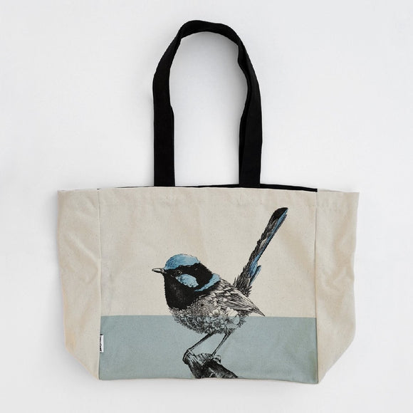 CANVAS TOTE BAG - WREN