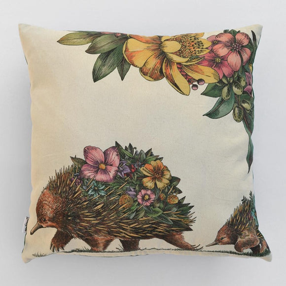 CUSHION ECHIDNA & PUGGLES COLOURED