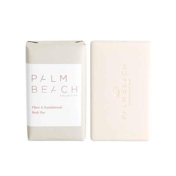 PALM BEACH BODY BAR - CLOVE AND SANDALWOOD