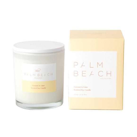 PALM BEACH CANDLE - COCONUT AND LIME