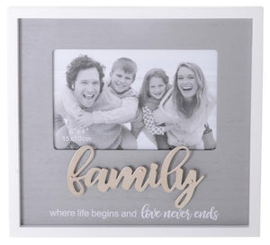 SENTIMENTS FRAME FAMILY 6X4