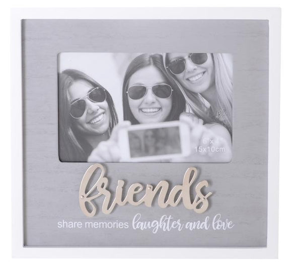 SENTIMENTS FRAME FRIENDS 6X4